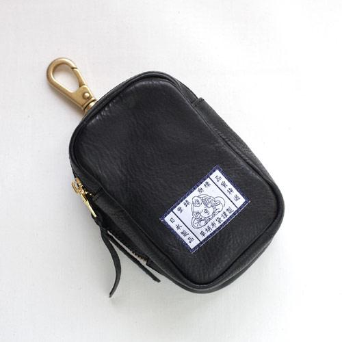 【革蛸布袋謹製】布袋のベルトポーチ ブラックボックス【smtb-td】【saitama】