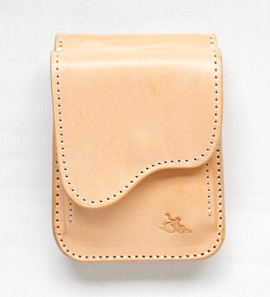 革蛸オリジナル台形コインケース ヨーロピアンサドル サドル/ブラック【smtb-td】【saitama】