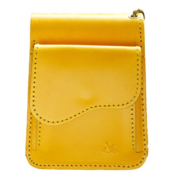 革蛸謹製台形ショートワレット(ファーストタイプ)黄金