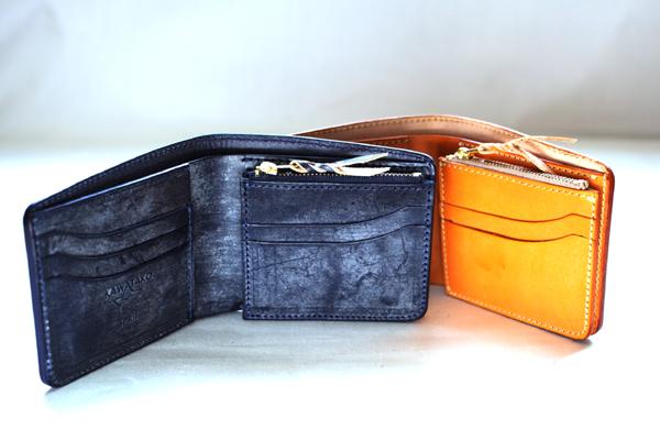KAWATAKO☆SPRIT ブライドルレザー逆台形二つ折り財布【smtb-td】【saitama】財布・ウォレット