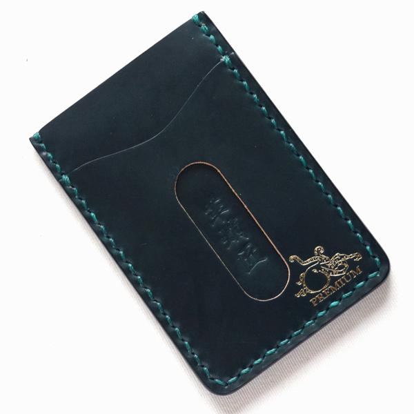 革蛸謹製 匠 PREMIUM カードの達人3 コードバン グリーン