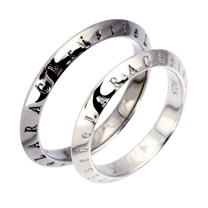 LARA Christie ララクリスティー ペア リング 指輪 シルバーアクセサリー メンズ レディース ローラシア [ PAIR Label ] r6025-p
