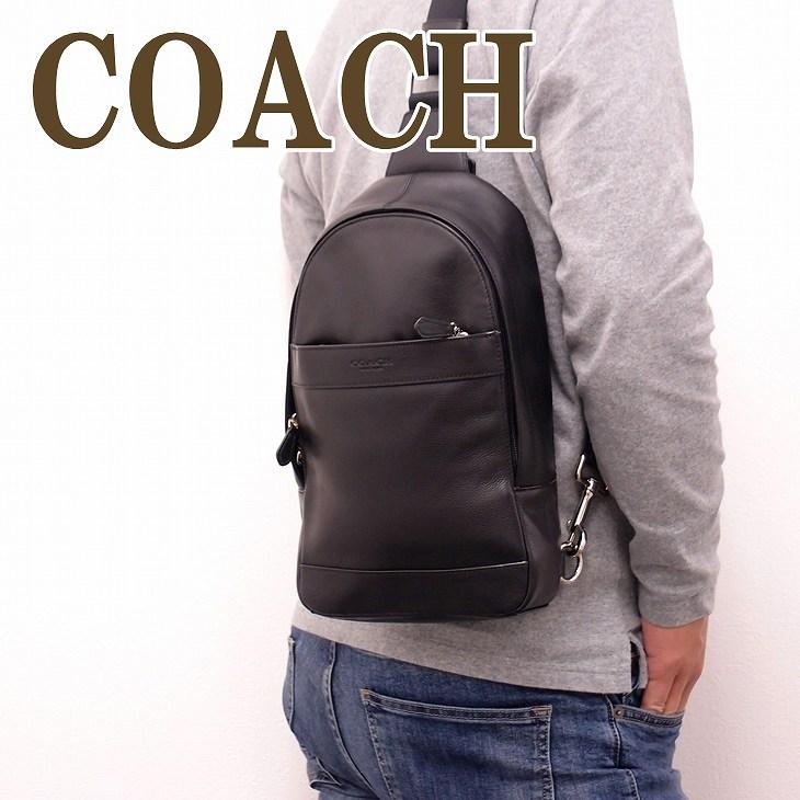 コーチ COACH バッグ メンズ ショルダーバッグ 斜め掛け ワンショルダー 54770BLK ブランド 人気