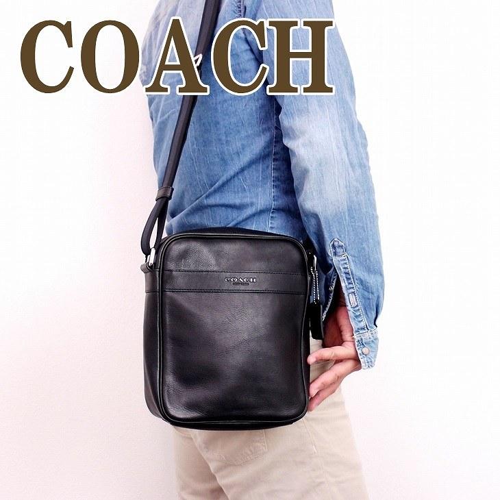 コーチ バッグ メンズ COACH ショルダーバッグ 斜めがけ レザー 71723BLK ブランド 人気
