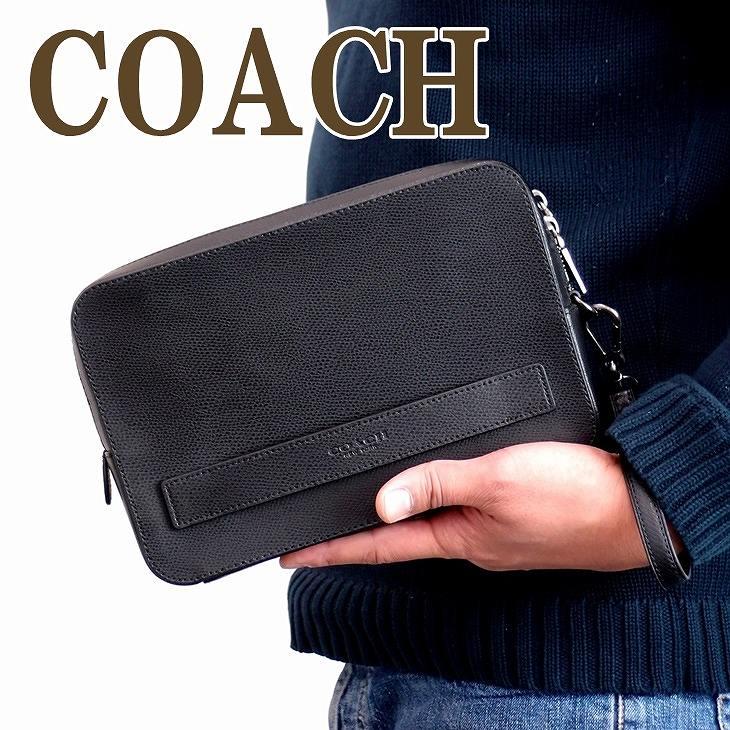 6ff9a40466b2 コーチCOACHバッグメンズセカンドバッグクラッチバッグ財布セカンドポーチ93555BLKブランド人気