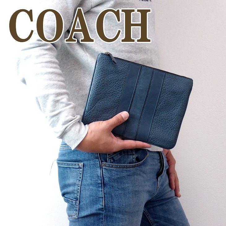 コーチ COACH バッグ メンズ セカンドバッグ クラッチバッグ ポーチ セカンドポーチ 22499BLK ブランド 人気, ニシイワイグン:905fae6b --- realizeinc.jp