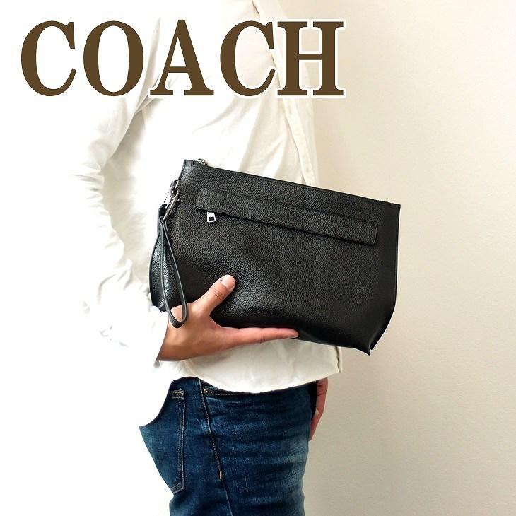 コーチ COACH メンズ バッグ セカンドバッグ クラッチバッグ ポーチ セカンドポーチ 28614BLK ブランド 人気