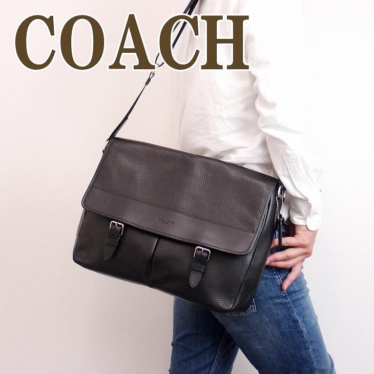 コーチ COACH バッグ メンズ ショルダーバッグ 斜めがけ シグネチャー 54149BLK ブランド 人気 誕生日 プレゼント ギフト