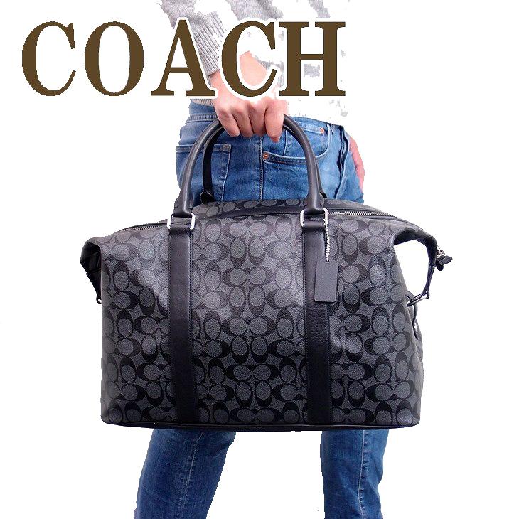 コーチ バッグ メンズ COACH ボストンバッグ トートバッグ 2way 斜めがけ ショルダーバッグ シグネチャー 54776CQBK ブランド 人気