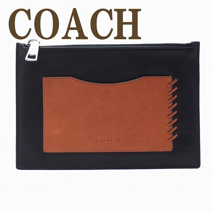 コーチ COACH バッグ セカンドバッグ クラッチバッグ ポーチ セカンドポーチ 65037BKSD ブランド 人気