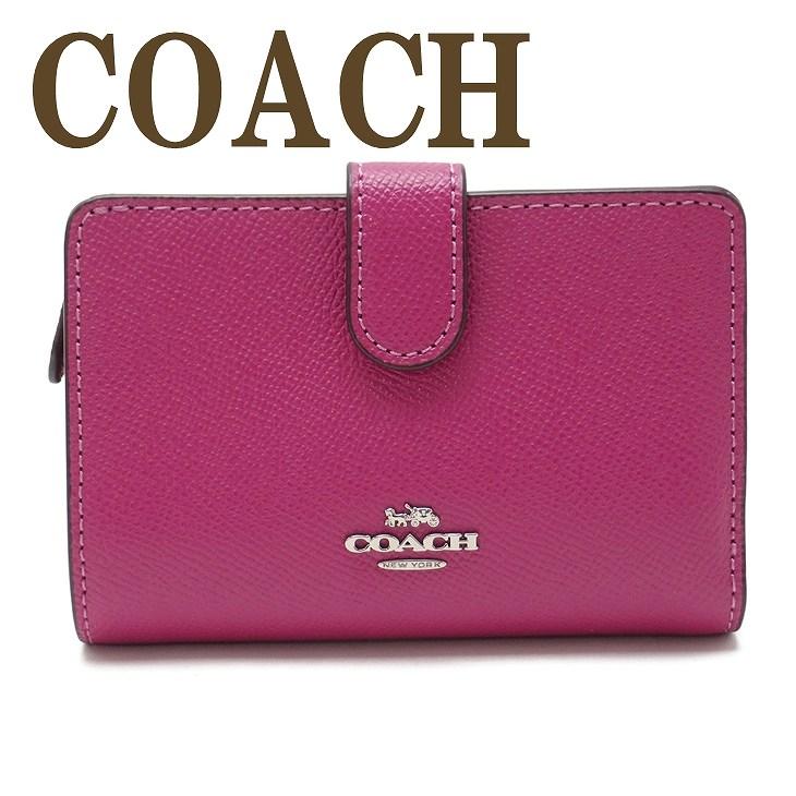 コーチ COACH 財布 二つ折り財布 レディース レザー 11484SVAJN ブランド 人気