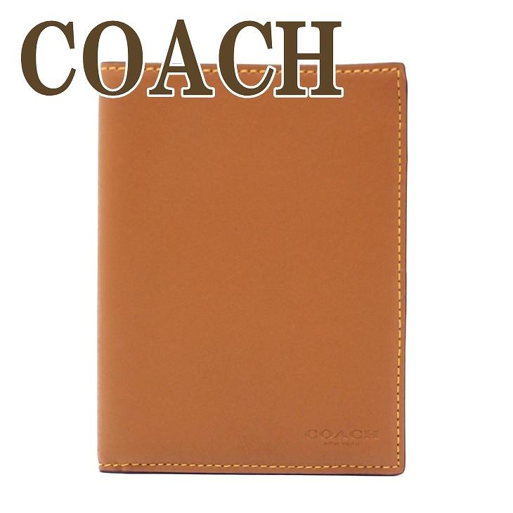 コーチ COACH メンズ パスポートケース 本革 レザー 22875LQD ブランド 人気