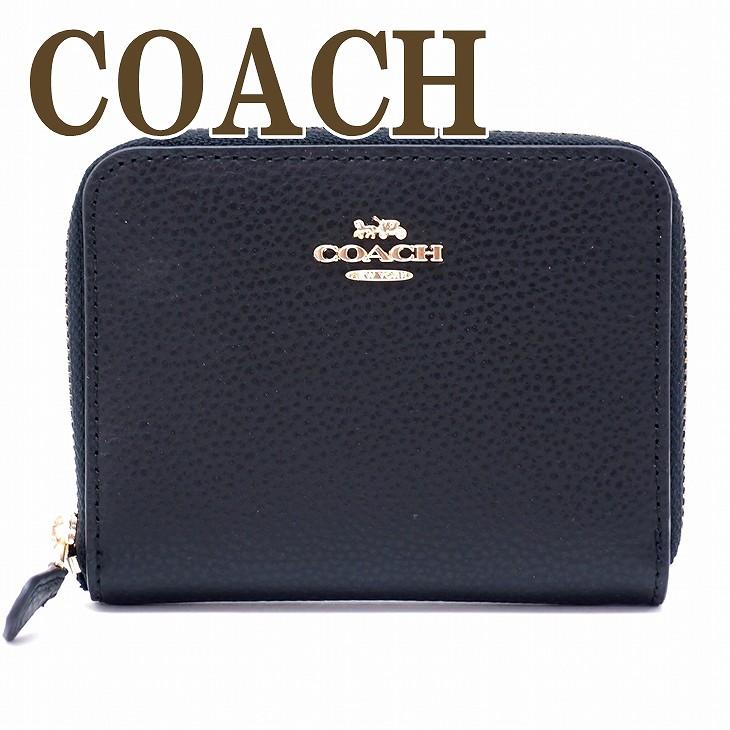 コーチ COACH 財布 二つ折り財布 長財布 レディース ブラック 24808IMBLK ブランド 人気