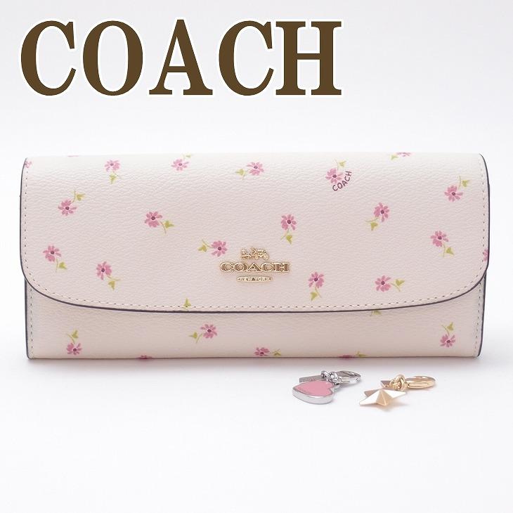 コーチ COACH 財布 レディース 限定ギフトセット 長財布 花柄 ピンク 28853IMCAH ブランド 人気