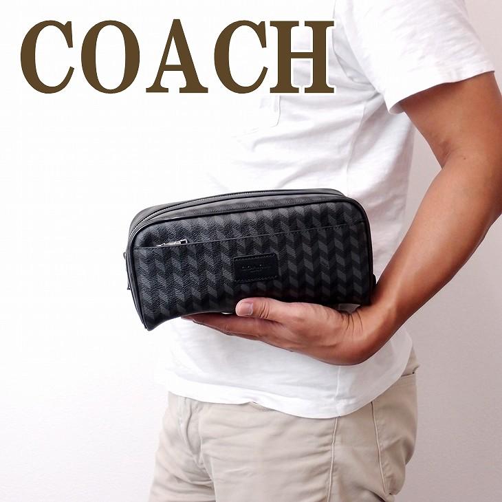 コーチ COACH バッグ メンズ セカンドバッグ クラッチバッグ セカンドポーチ レザー ブランド 30299BLC ブランド 人気