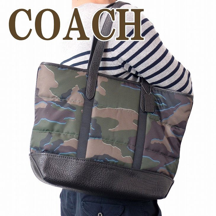 コーチ COACH バッグ メンズ トートバッグ 迷彩柄 カモフラージュ柄 ショルダーバッグ 31318QBGRU ブランド 人気