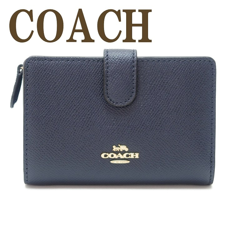 コーチ COACH 財布 二つ折り財布 レディース レザー 11484IMMID ブランド 人気