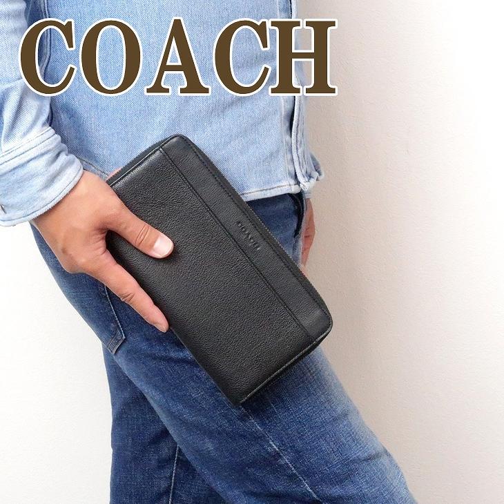 コーチ 財布 COACH メンズ 長財布 パスポートケース レザー製 66564QBBK ブランド 人気