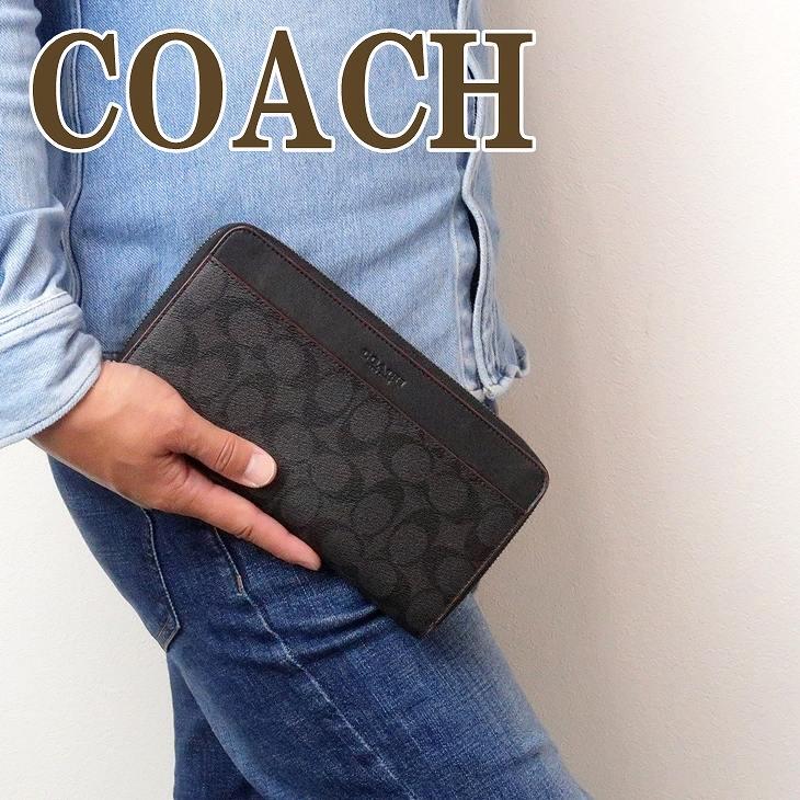コーチ 財布 COACH メンズ 長財布 パスポートケース レザー製 67623N3A ブランド 人気