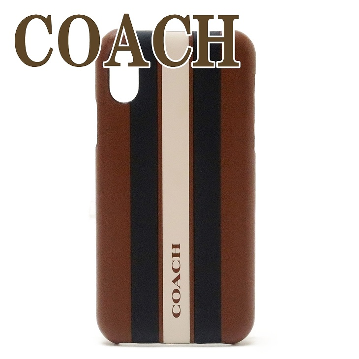 コーチ COACH iPhone X XS 専用 ケース カバー アイフォン メンズ 77935QBN3D 【ネコポス】 ブランド 人気