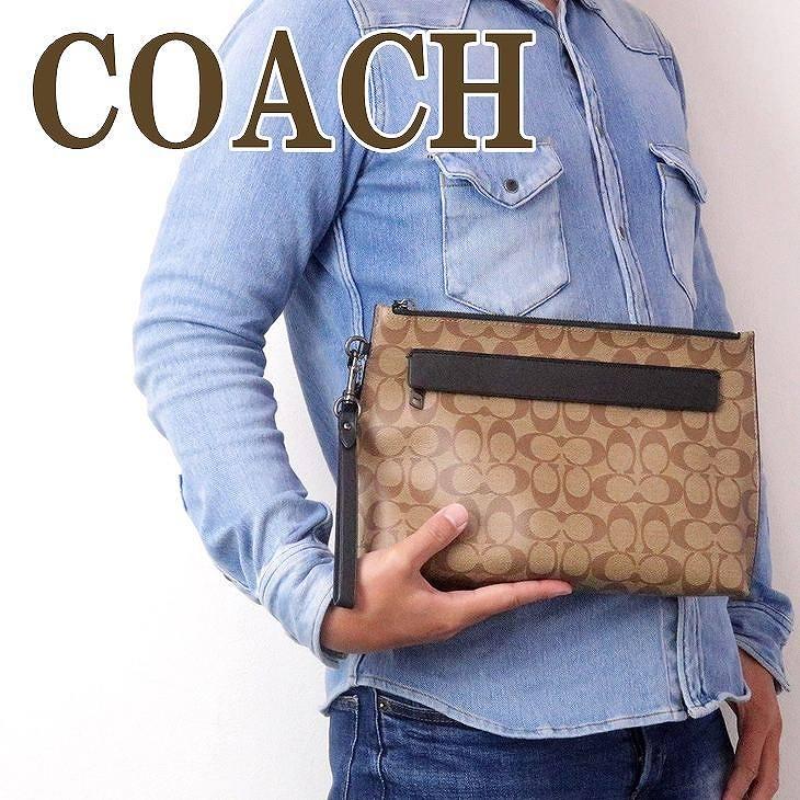 コーチ COACH バッグ メンズ セカンドバッグ クラッチバッグ ポーチ セカンドポーチ 29508QBTN2 ブランド 人気