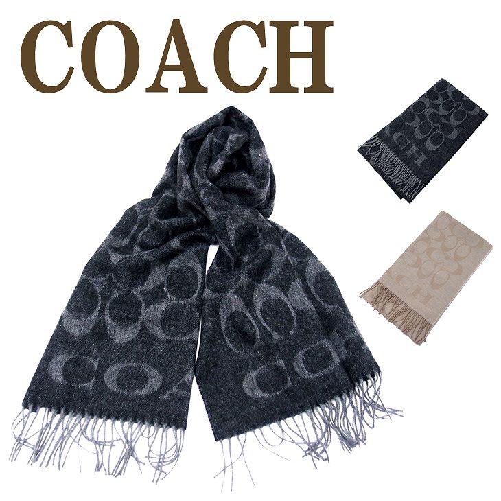コーチ COACH マフラー メンズ ストール アンゴラ シルク混 大判 36808 ブランド 人気