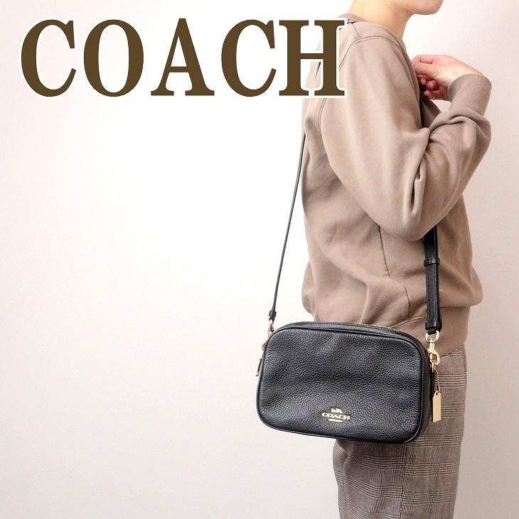 コーチ COACH バッグ レディース ショルダーバッグ 斜めがけ ブラック 黒 レザー 39856IMBLK ブランド 人気