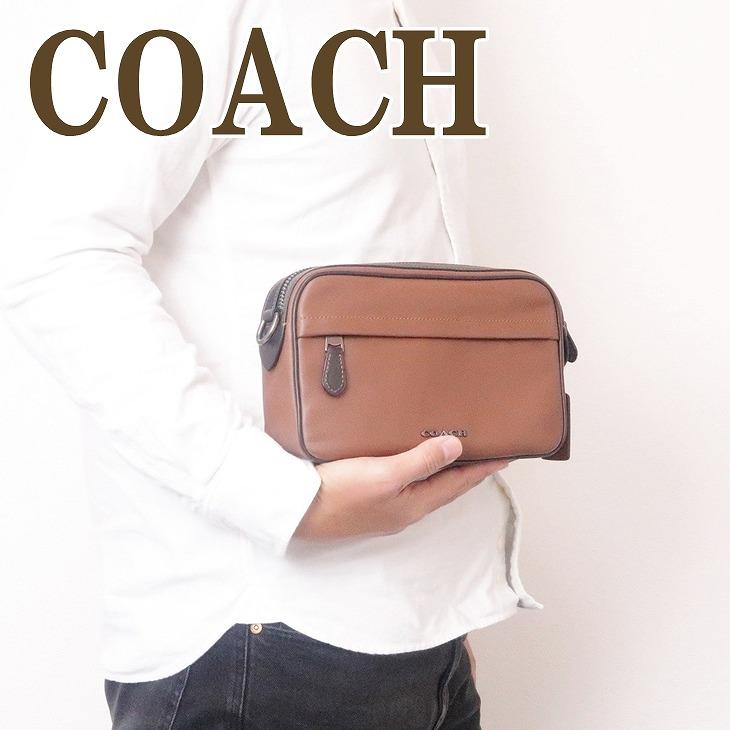 コーチ COACH バッグ メンズ ショルダー セカンド クラッチバッグ ポーチ ブランド 39946QBSD ブランド 人気