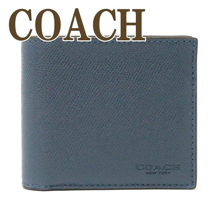 コーチ COACH 財布 メンズ 二つ折り財布 カードケース 59112DDE ブランド 人気