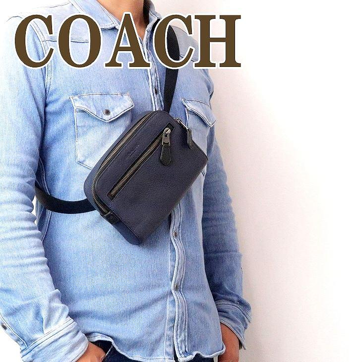 コーチ COACH バッグ メンズ ショルダーバッグ 斜めがけ レザー 72506QBBHP ブランド 人気