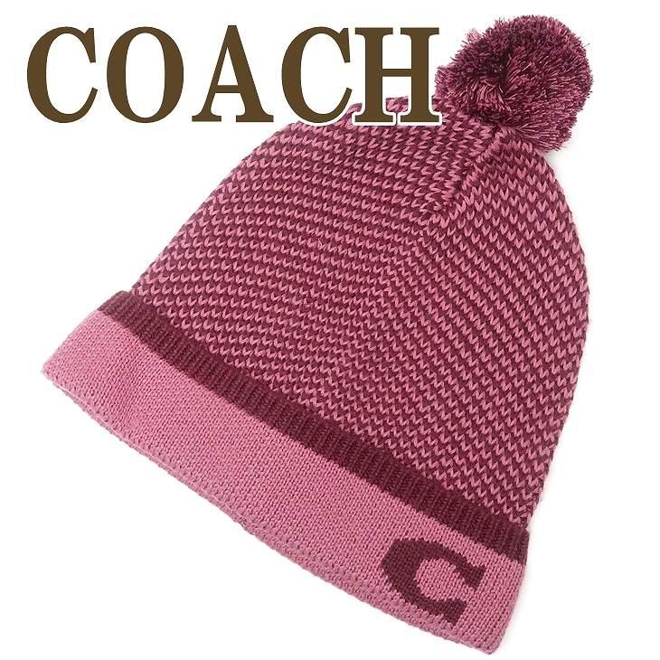 コーチ COACH 帽子 レディース ニットキャップ ニット帽子 ニット帽 ピンク 76492PIN 【ネコポス】 ブランド 人気