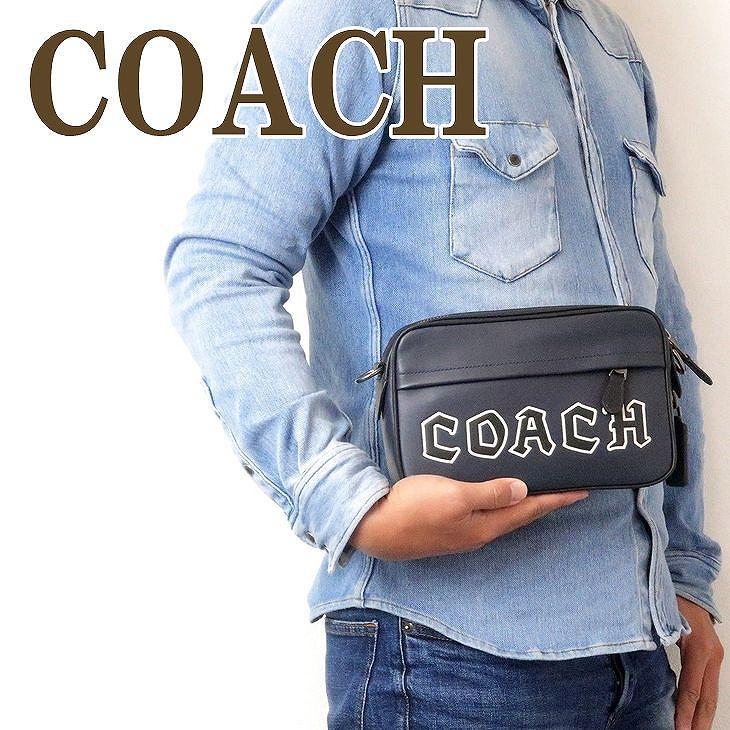 コーチ COACH バッグ メンズ ショルダー セカンド クラッチバッグ ポーチ ブランド 76926QBBHP ブランド 人気