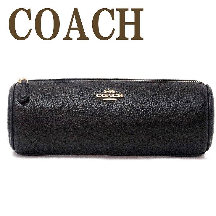 コーチ COACH ポーチ コスメポーチ 化粧ポーチ メイクブラシ ケース ブラック黒 79931IMBLK ブランド 人気