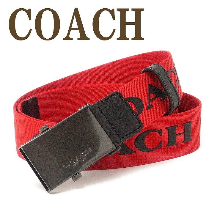 コーチ COACH ベルト メンズ ロゴ レザー ナイロン 84746QBREM 【ネコポス】 ブランド 人気