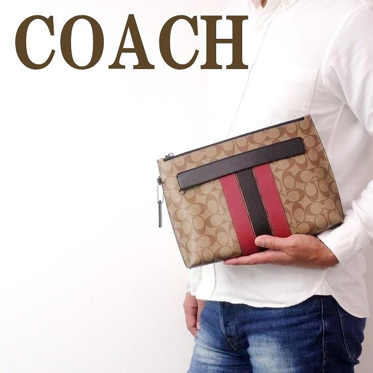 コーチ COACH バッグ メンズ セカンドバッグ クラッチバッグ ポーチ セカンドポーチ 88070QBPKP ブランド 人気