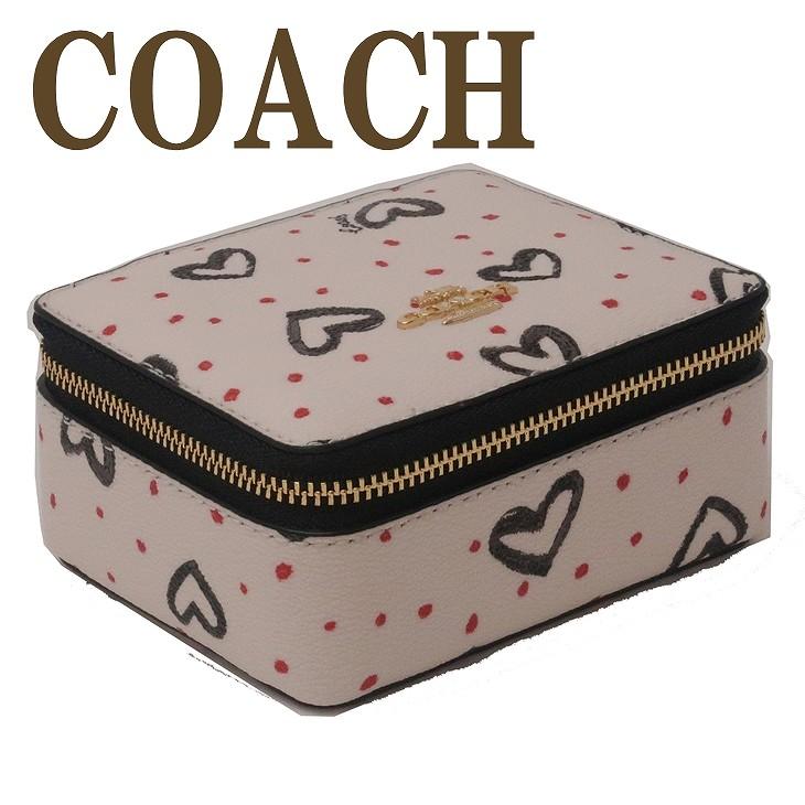 コーチ COACH ジュエリーボックス レディース ポーチ ケース ハート 91554IMQA2 ブランド 人気