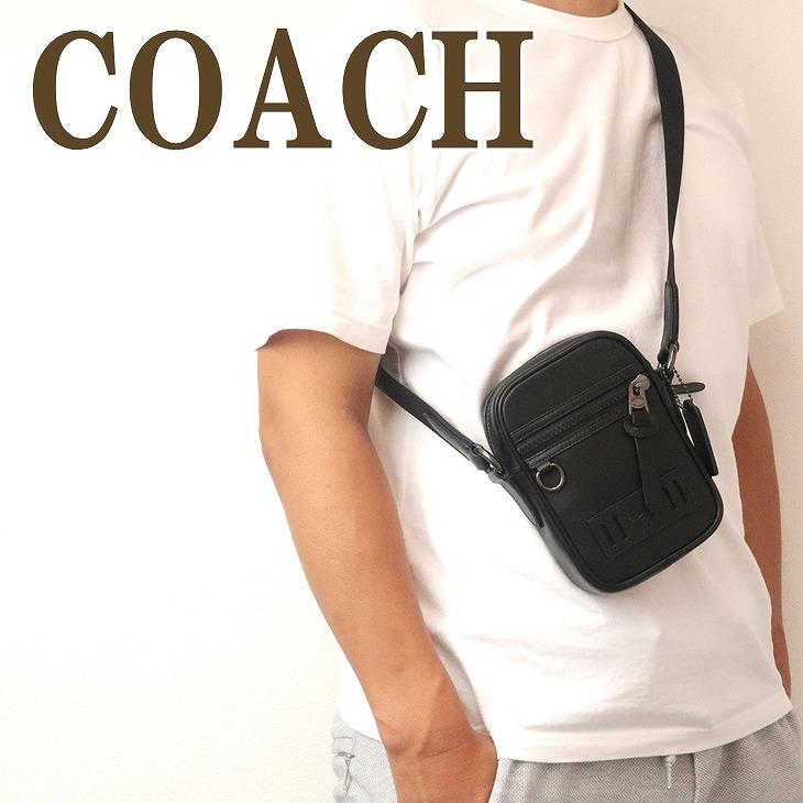 コーチ COACH バッグ メンズ ショルダーバッグ メッセンジャーバッグ 斜めがけ レザー 72963QBBK ブランド 人気