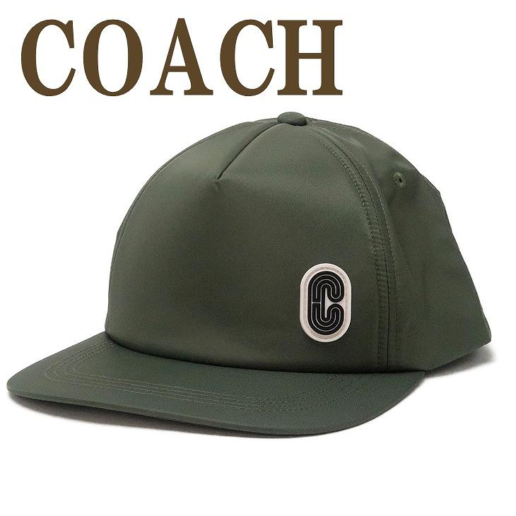 コーチ COACH メンズ 帽子 ベースボールキャップ ハット つば付 ロゴ 89722FTG ブランド 人気