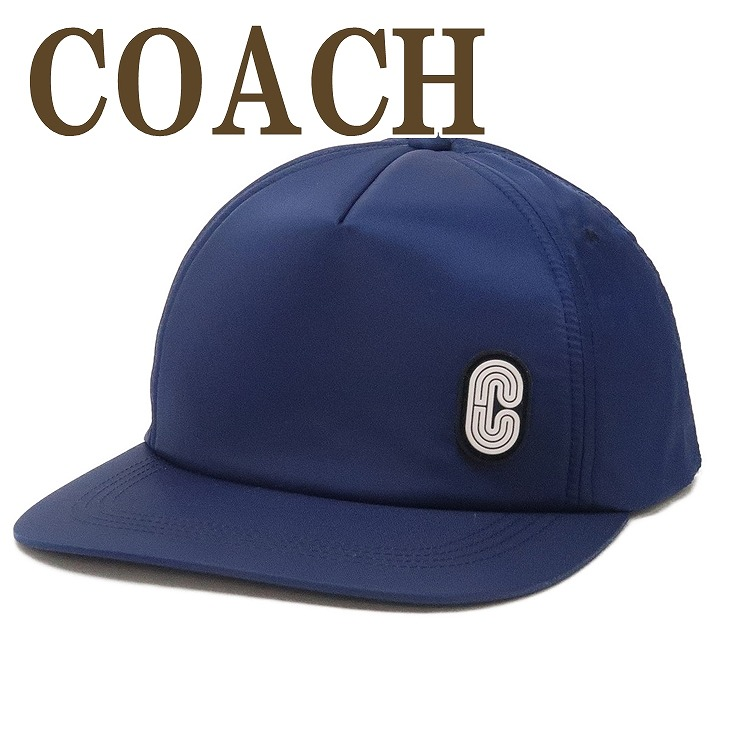 コーチ COACH メンズ 帽子 ベースボールキャップ ハット つば付 ロゴ 89722NAV ブランド 人気