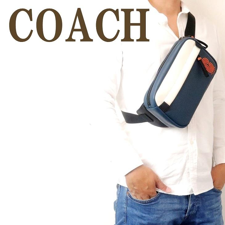 コーチ COACH バッグ メンズ ショルダーバッグ 斜めがけ ウエストバッグ ボディーバッグ ベルトバッグ 89920QBQ6P ブランド 人気
