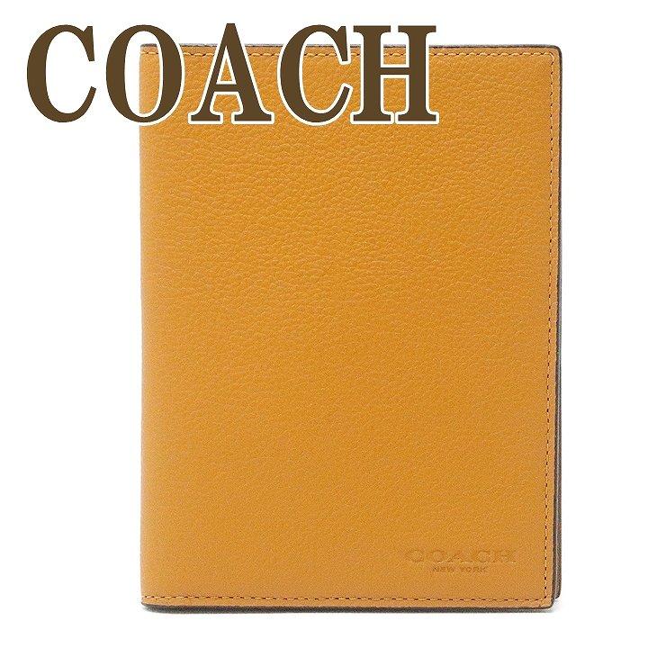 コーチ COACH メンズ パスポートケース 本革 レザー 93604QBP58 【ネコポス】 ブランド 人気