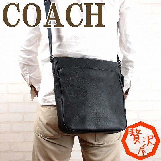 Coach COACH coach COACH bag men's shoulder bags diagonal put saffiano 71286 SVBK