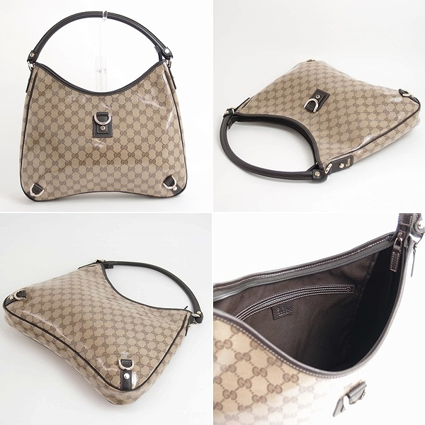 Gucci by GUCCI bag shoulder bag Crystal GG 268636-FZIFG-9903