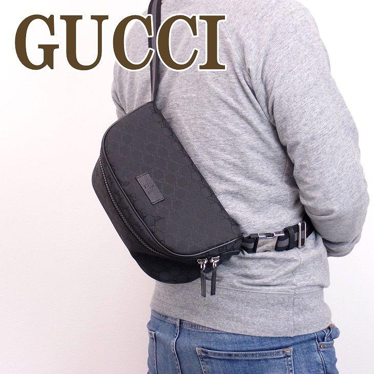 グッチ バッグ メンズ GUCCI ショルダーバッグ 斜めがけ ウエストバッグ GG 449182-G1XHN-8615 ブランド 人気 誕生日 プレゼント ギフト