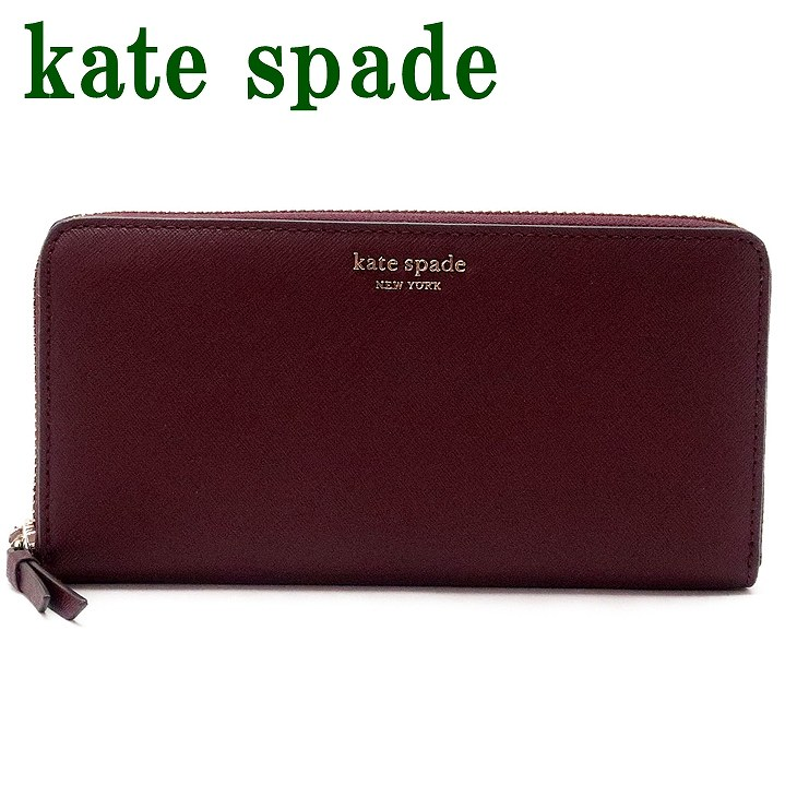 ケイトスペード Kate Spade 財布 レディース 長財布 ラウンドファスナー レザー WLRU5448-610 ブランド 人気