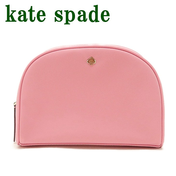 ケイトスペード KateSpade ポーチ レディース コスメポーチ バッグ 化粧ポーチ ピンク WLRU5948-641 ブランド 人気