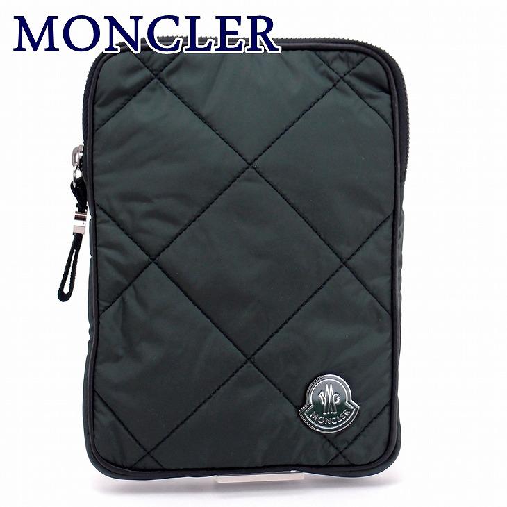 モンクレール バッグ MONCLER セカンドバッグ メンズ ダウン ポーチ クラッチバッグ ロゴ A008200054164-876 ブランド 人気 誕生日 プレゼント ギフト