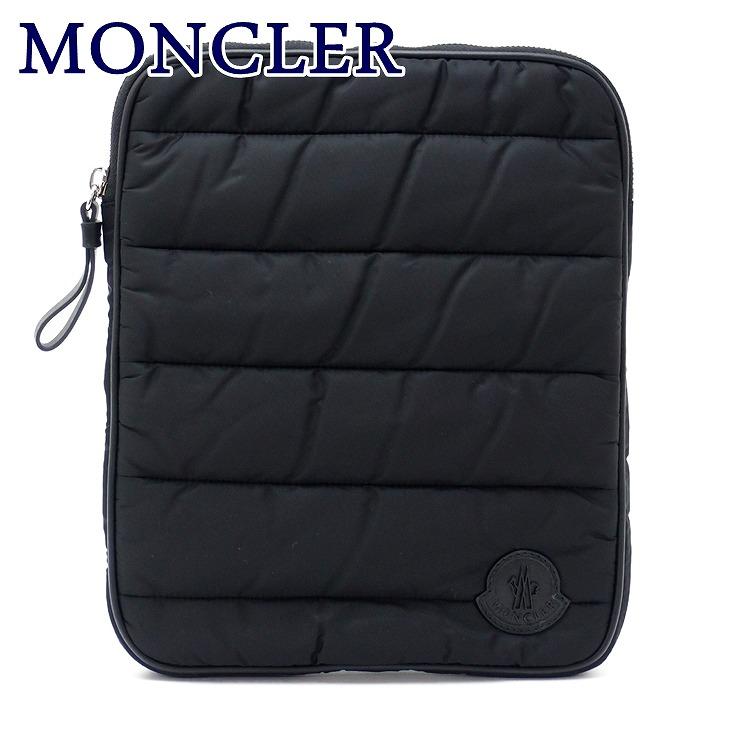 モンクレール バッグ MONCLER セカンドバッグ メンズ ダウン ポーチ クラッチバッグ ロゴ A500201054155-999 ブランド 人気