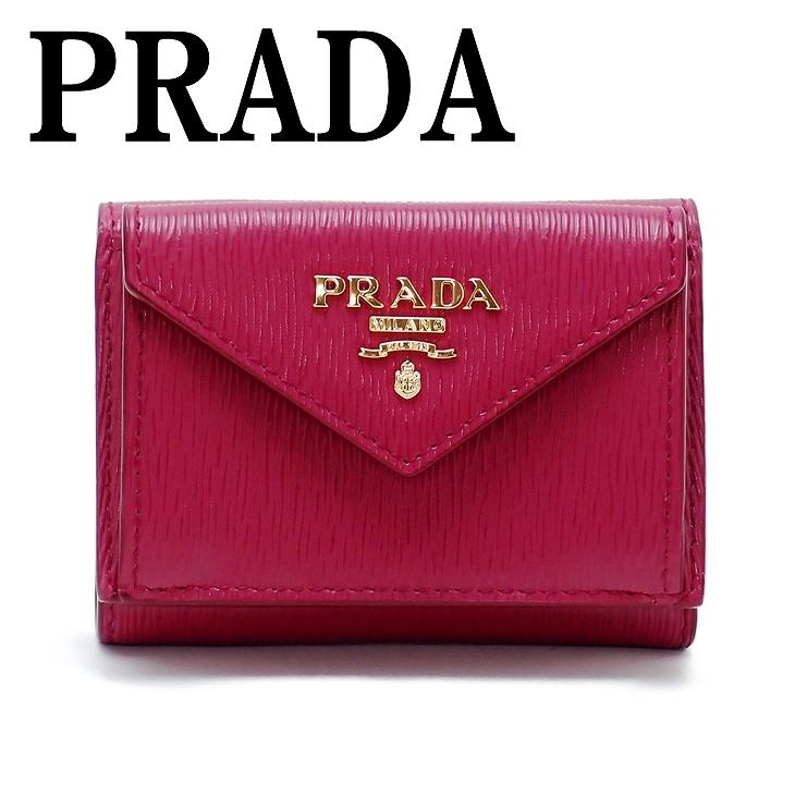 55c6de1d8c49 プラダ 財布 レディース 三つ折り財布人気 新作 ランキング プラダ PRADA 財布 三つ折り財布 レディース