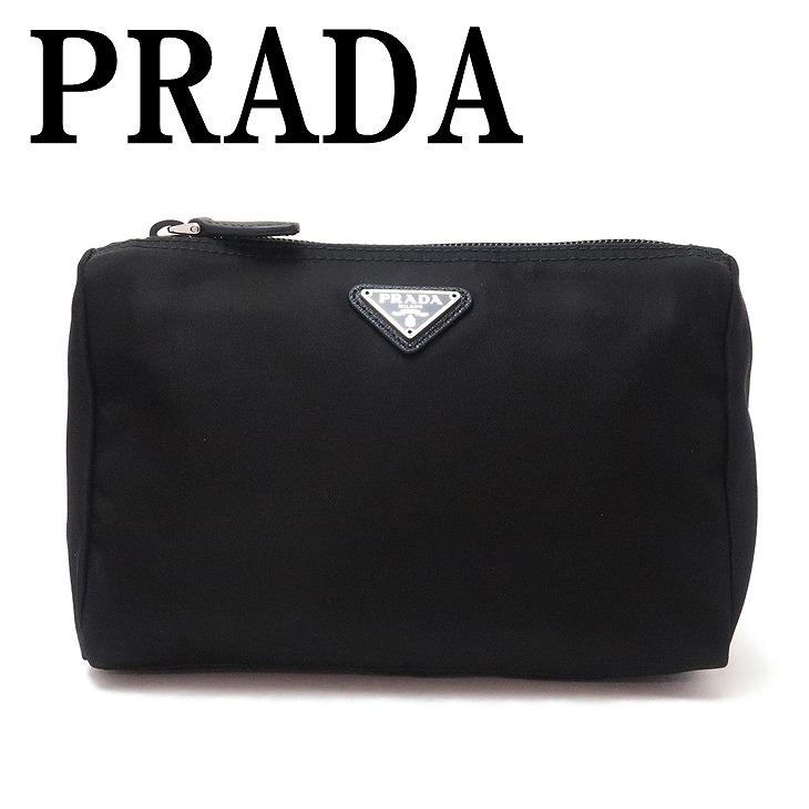 プラダ PRADA ポーチ コスメポーチ 化粧ポーチ NERO 1NA011-2BQP-F0002 ブランド 人気